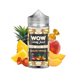 Dulce Croco 0mg 100ml - WOW by Candy Juice