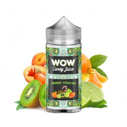 Sweet Toucan 0mg 100ml - WOW by Candy Juice