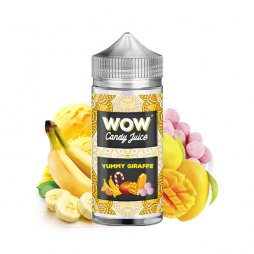 Yummy Giraffe 0mg 100ml - WOW by Candy Juice