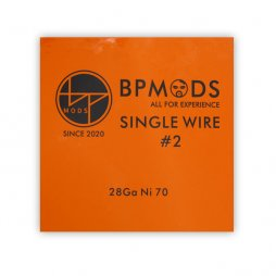 Single Wire 2  28Ga Ni70 - BP mods