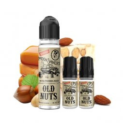 Old Nuts 0mg 50ml + 2 Boosters 10ml - MoonShiners