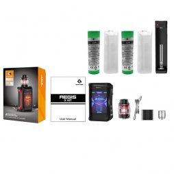 [Bonus Pack ] Aegis X subohm + 2 x 25R + MC1 charger Xtar