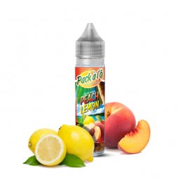 Peach Lemon V2 0mg 50ml - Pack à l'Ô