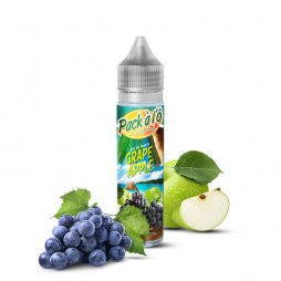 Grape Apple V2 0mg 50ml - Pack à l'Ô