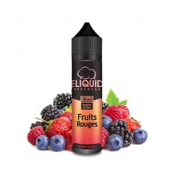 Fruits rouges 0mg 50ml - Eliquid France