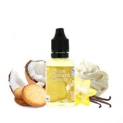 Concentrate Nice Custard 30ml - Chefs Flavours
