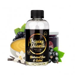 Blackcurrant Rice Pudding 0mg 200ml - Dripping Desserts
