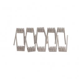 Ni80 MTL Fused Clapton Coil 0.6ohm 30GA x 2 + 38GA (10 pcs) - THC