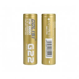Batteries G22 18650 2200mAh 20A 30A (2pcs) - Golisi