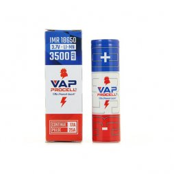 Accu rechargeable 18650 3500mAh - Vap Procell