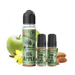 Big Apple 0mg 40ml + 2 Booster 10ml - MoonShiners