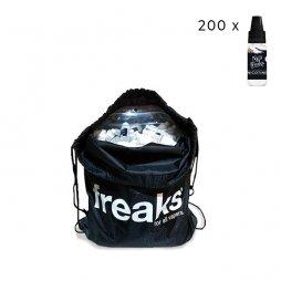 Bag of 200 nicotine boosters 19.9mg/10ml- Nico Freaks