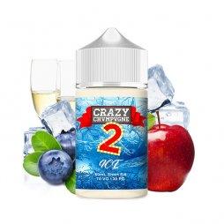 Crazy Champagne 2 Ice 0mg 50ml - Crazy Juice by Mukk Mukk