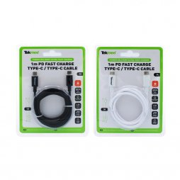 1M Cable  TYPE-C / TYPE-C 3A  - TEKMEE
