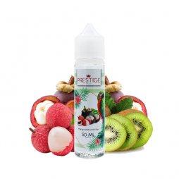 Mangoustan, Litchi, Kiwi 0mg 50ml - Prestige Fruits