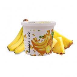 Pâte pour chicha 120g Banana Twix (Banane Ananas) - Ice Frutz