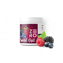 Flavored moassel for shisha 200g Wild Chill (forest fruits, mint) - Zero