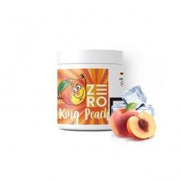 King Peach flavored shisha moassel 200g (frozen peach) - Zero