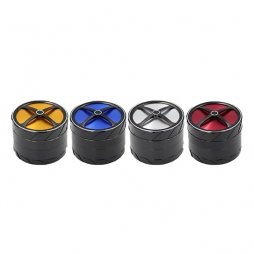 Grinder - 4 etages - 63x50mm - Wheel Shape
