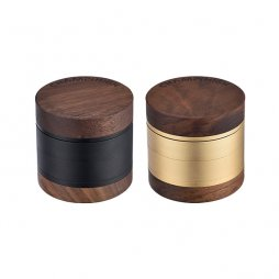 Grinder High Round Wooden 62mm - Champ High