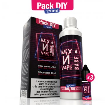 Pack DIY Mix N Vape 170ml 50/50 - Airmust