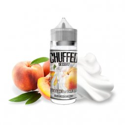 Peaches & Cream  0mg 100ml - Chuffed Dessert