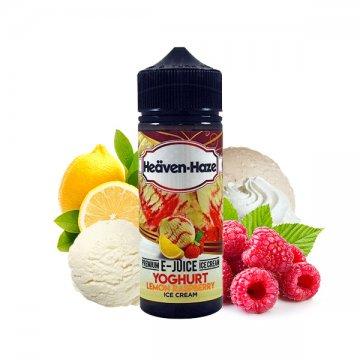 Yoghurt Lemon Raspberry Ice Cream 0mg 100ml - Heäven Haze