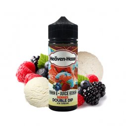 Berries Double Dip Ice Cream 0mg 100ml - Heäven Haze