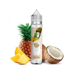 Ananas Coco 0mg 50ml - Le Petit Verger by Savourea
