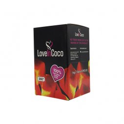 Love In Coco Charcoal 100% Natural 1kg