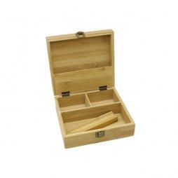 Medium Size Wooden Stash Herb Tobbacco Storage Box