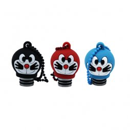 Resin Character 510 drip tip with cover cap- Doraemon Cat