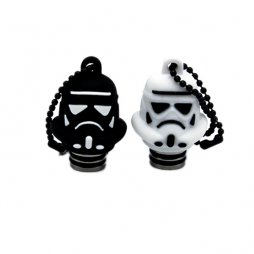 Resin Character 510 drip tip with cover cap- Star Wars