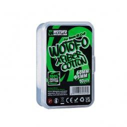 Cotton 5mm XFiber Thick Cotton Strip - Wotofo