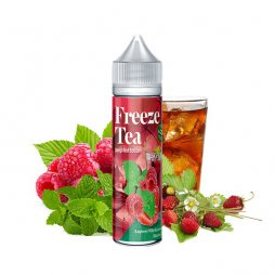 Raspberry Mint & Wild Strawberry Ice Tea Deep Red Edition 0mg 50ml - Freeze Tea