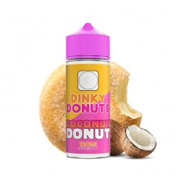 Coconut Donut 0mg 100ml - Dinky Donuts