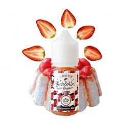 Concentré Charlotte aux fraises 30ml - Le Coq Qui Vape