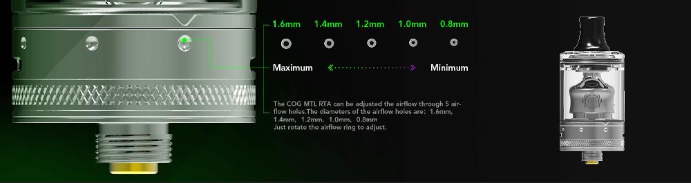COG MTL RTA 22mm